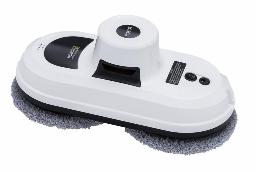 Робот для чистки стекла HOBOT-188, бел.Hobot<br>Робот для мойки окон Hobot 188 - это первый в мире многофункциональный робот-мойщик для чистки окон и стекол. <br> <br> Мощный вакуумный двигатель позволяет роботу удерживаться практически на любой вертикальной или горизонтальной поверхности. Кроме очистки ст...<br>
