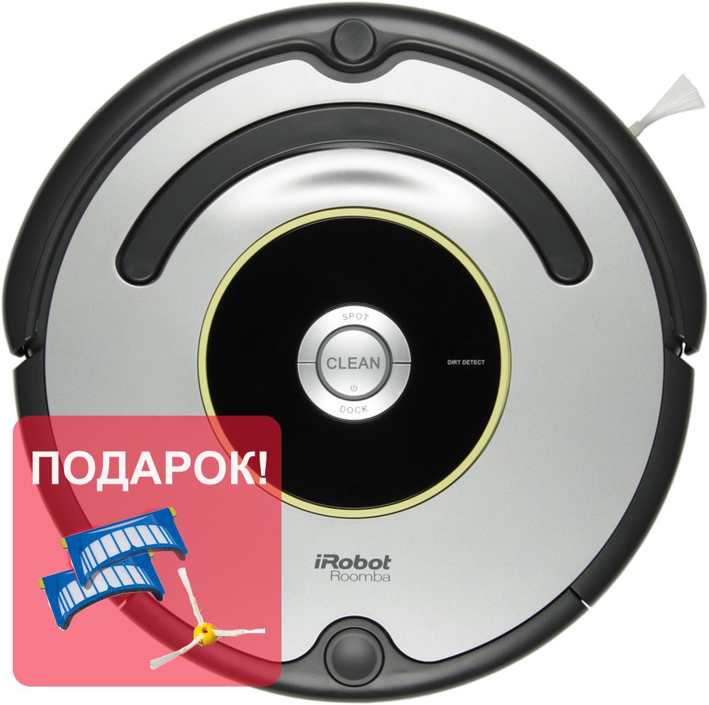 Робот пылесос iRobot Roomba 616iRobot<br>Робот-пылесос iRobot Roomba 616. Основное отличие Roomba 616 от более дорогих моделей, выбрать которые Вы можете в каталоге нашего сайта  — отсутствие режима программирования. Нужно всего лишь нажать кнопку «Clean», и пылесос Roomba 616 самостоятельно очи...<br>
