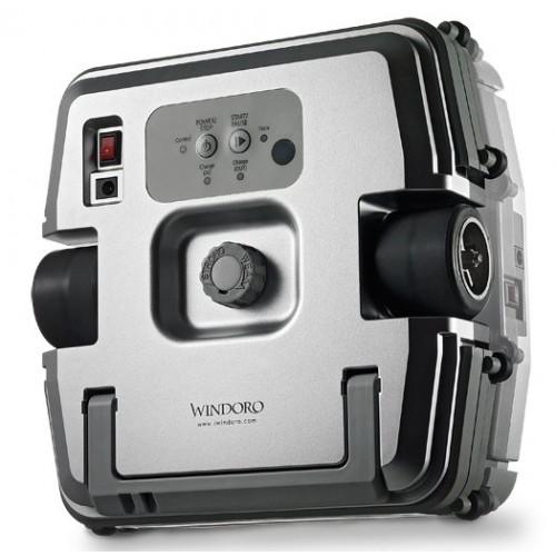 Робот для мойки окон Windoro WCR-I001 (серебр.)Windoro<br>Робот для мойки окон Windoro WCR-I001 – новинка в области домашней и персональной робототехнике. Используя четыре специальных насадки из микрофибры, а также чистящую жидкость, он полностью очищает стекла с обоих сторон. На одной зарядке литий-ионной аккум...<br>